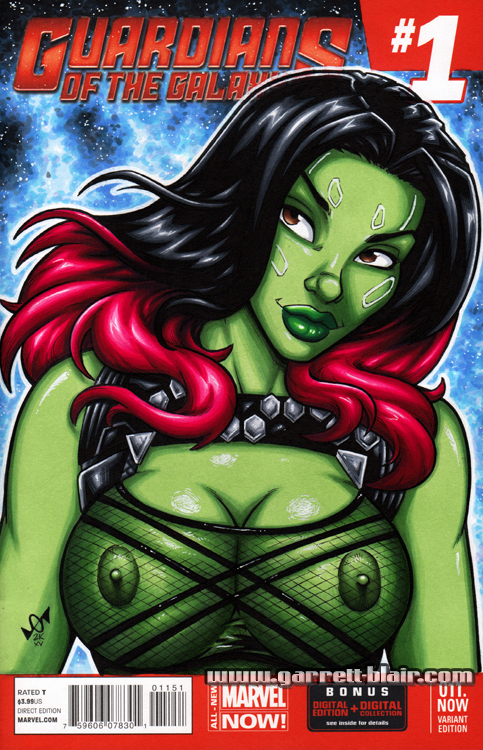 Gamora Garrett_Blair Guardians_of_the_Galaxy Marvel