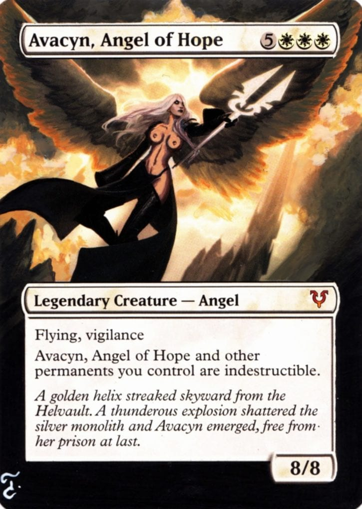 116 - Avacyn, Angel of Hope Topless