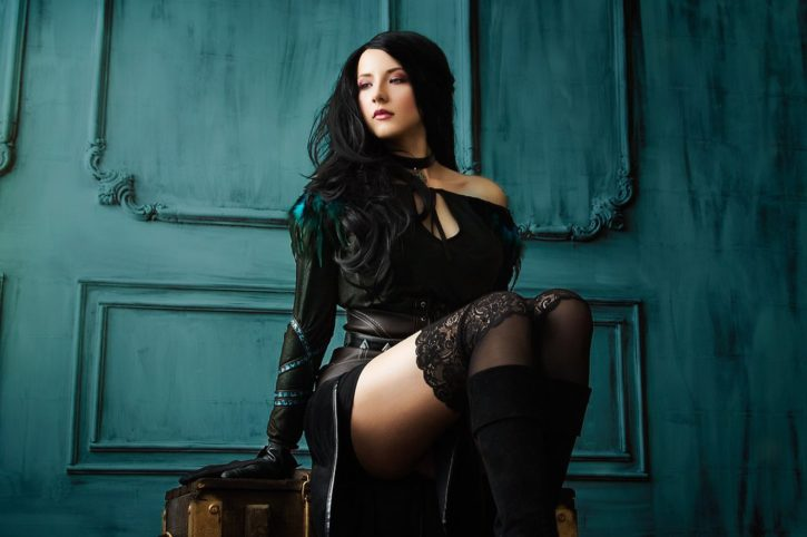 Yennefer Cosplay Inspired by The Witcher 3