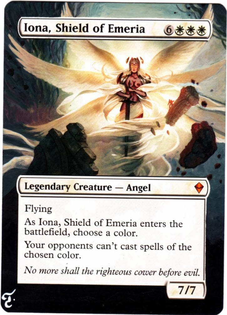 138 - Iona, Shield of Emeria Nude
