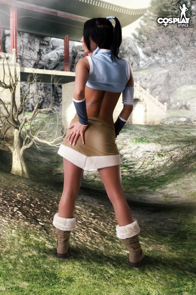 Korra Undressing – NSFW Cosplay [11 Pics]
