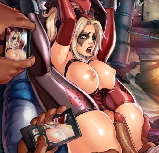 Harley Quinn All Tied Up