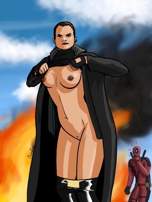 1640540 - Deadpool Marvel Negasonic_Teenage_Warhead Sassafras X-Men