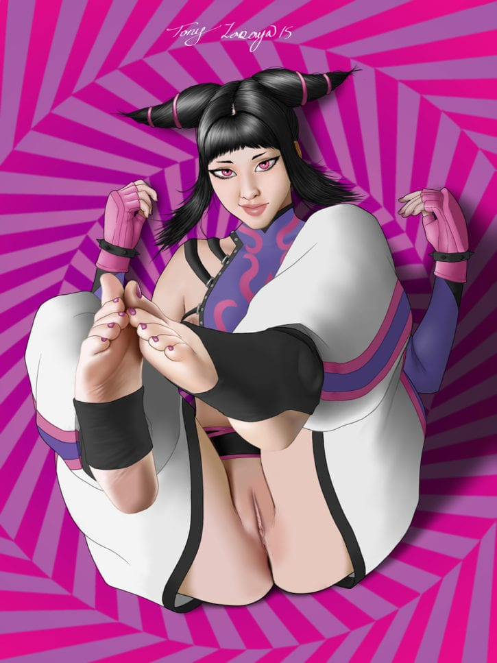 1646124 - Juri_Han Street_Fighter Tony