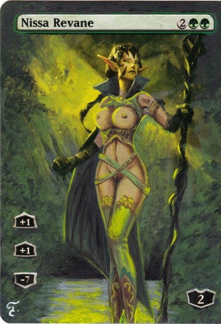 magic the gathering card nudes