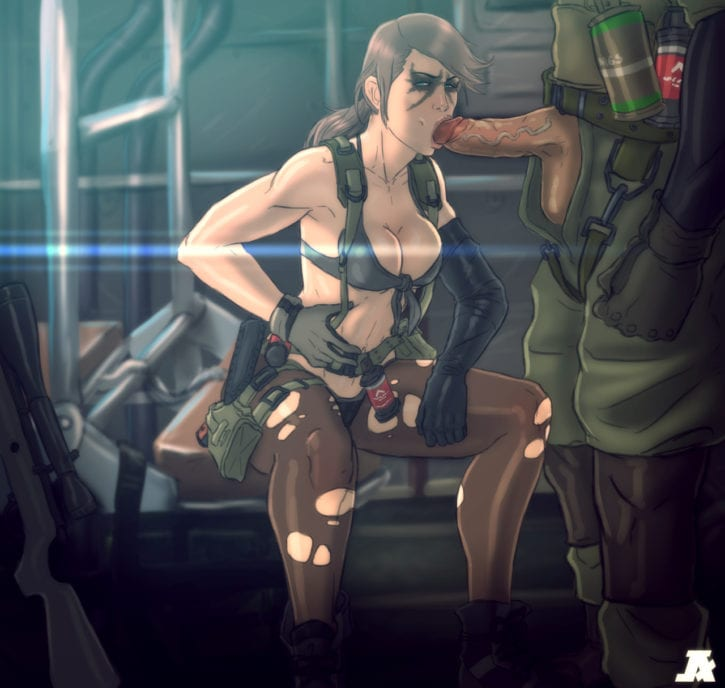001_Metal_Gear_Solid Metal_Gear_Solid_V Quiet pumpkinsinclair