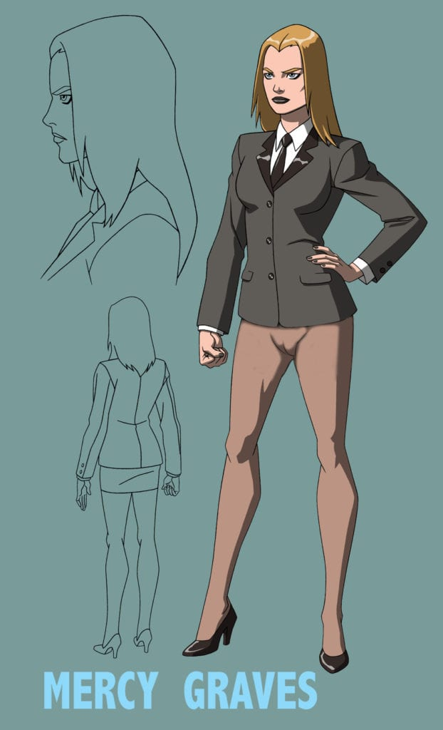 1063127 - DC DCAU Jerome_K_Moore Mercy_Graves Young_Justice