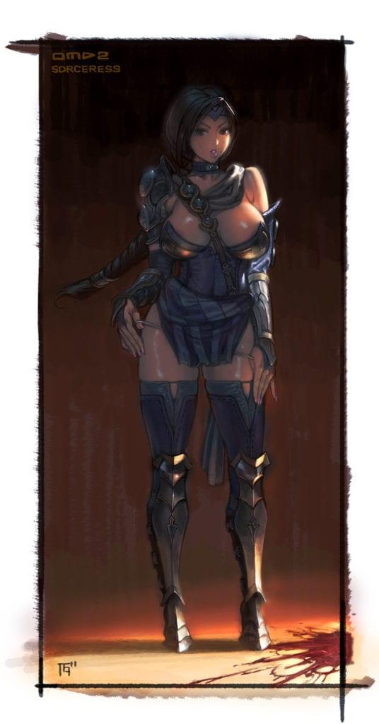1102069 - Orcs_Must_Die Sorceress Ura-KandA