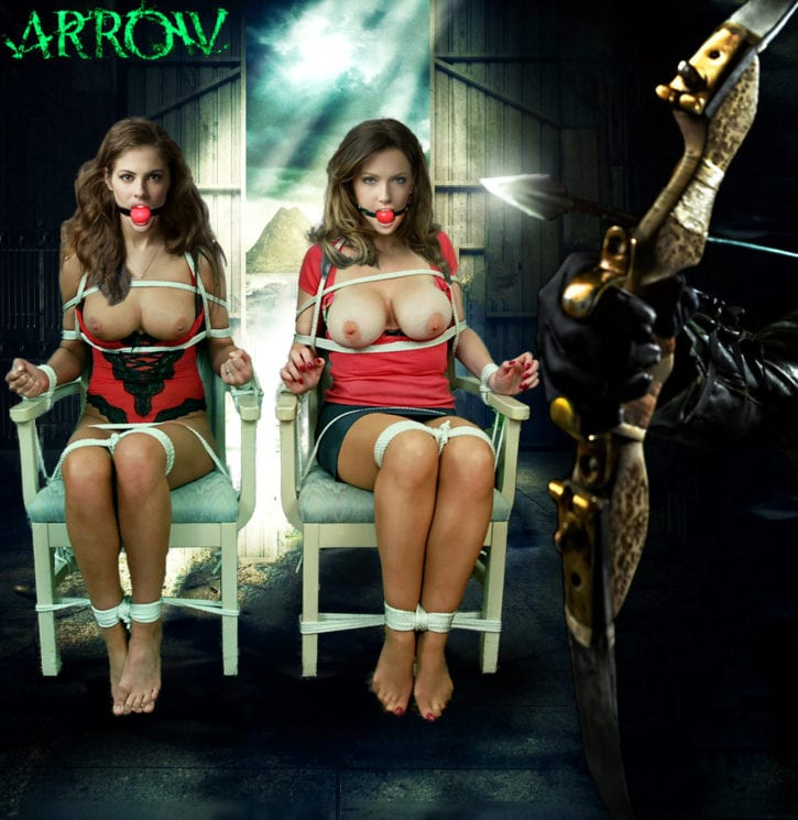 1155661 - DC Green_Arrow Katie_Cassidy Laurel_Lance Thea_Queen Willa_Holland arrow fakes unduingtota