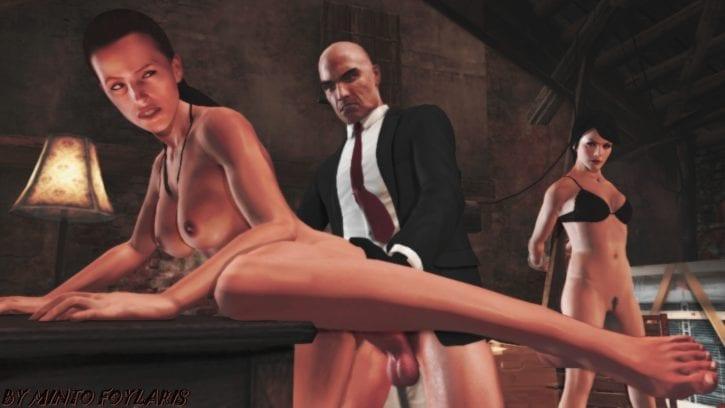 1405013 - Agent_47 Hitman Hitman_Absolution Layla_Stockton MintoFoularis diana_burnwood