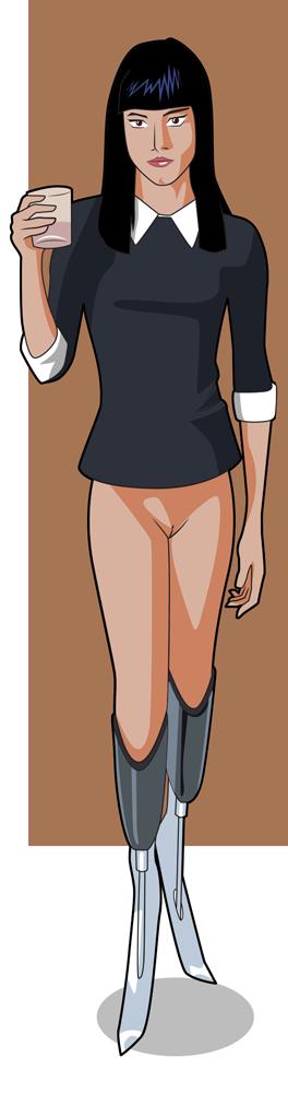1630016 - Gazelle Kingsman Sofia_Boutella bobsan
