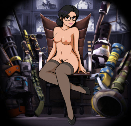 Miss Pauling from the Gun Mettle Update – Team Fortress 2 Rule 34