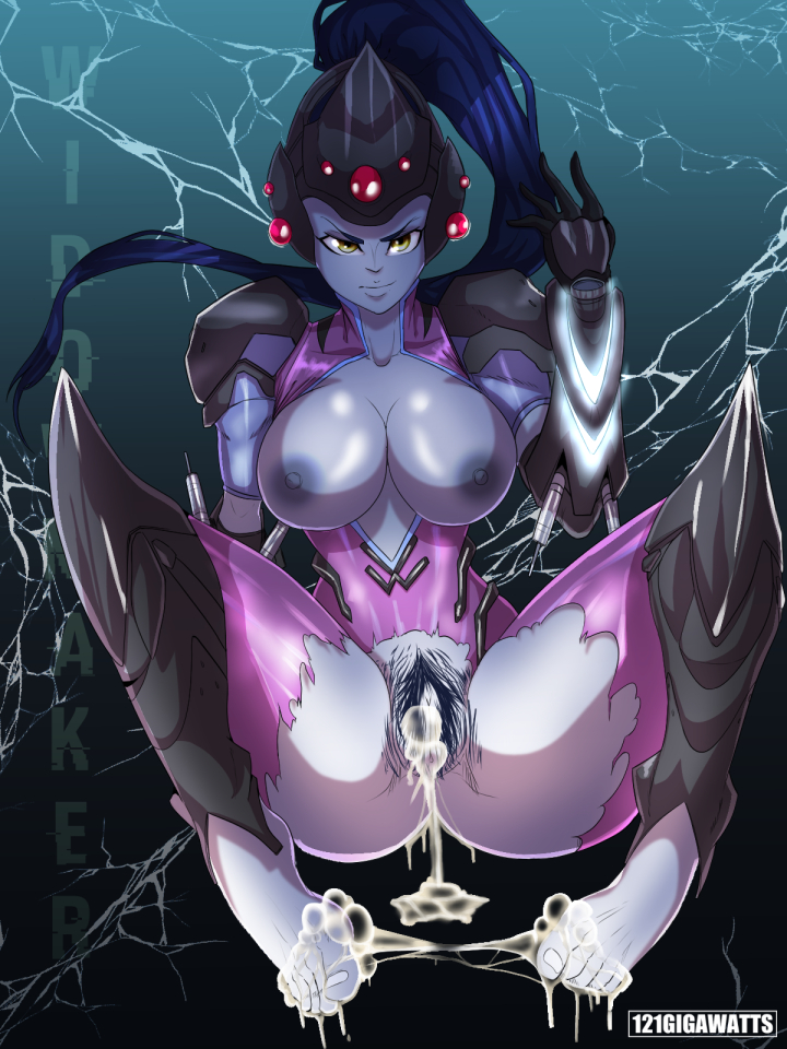 1663343 - 121gigawatts Overwatch Widowmaker