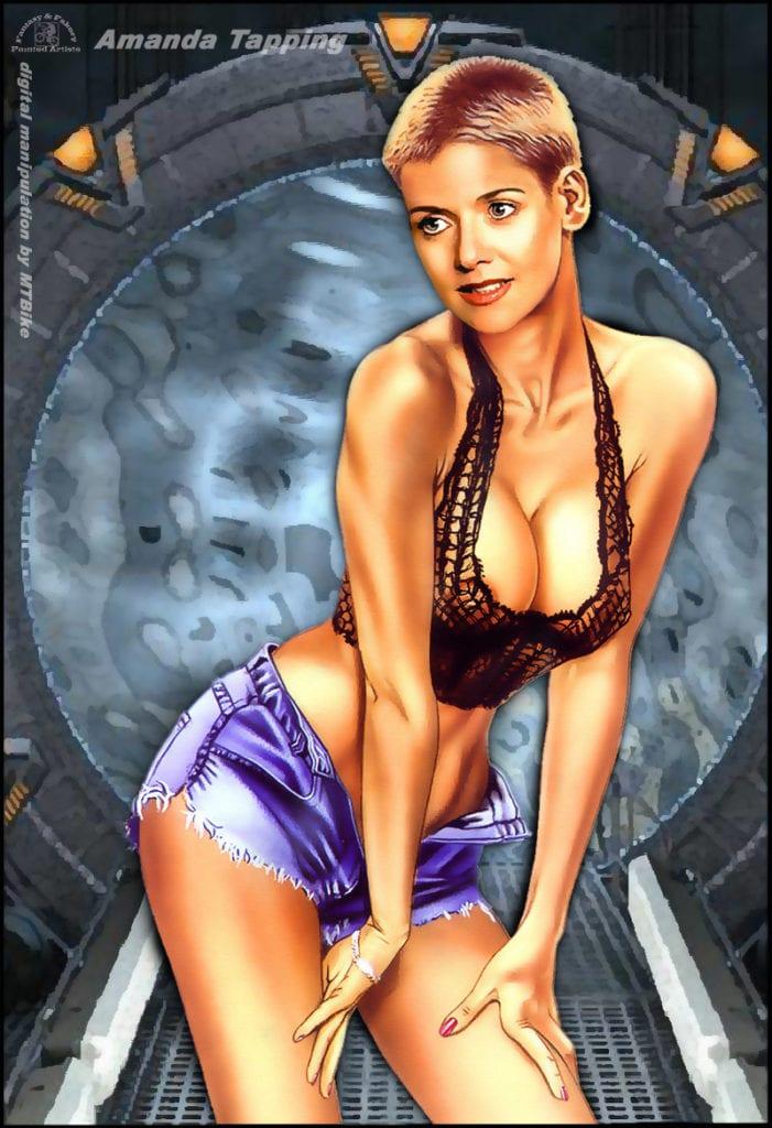 63924 - Amanda_Tapping MTBike Samantha_Carter Stargate Stargate_SG-1