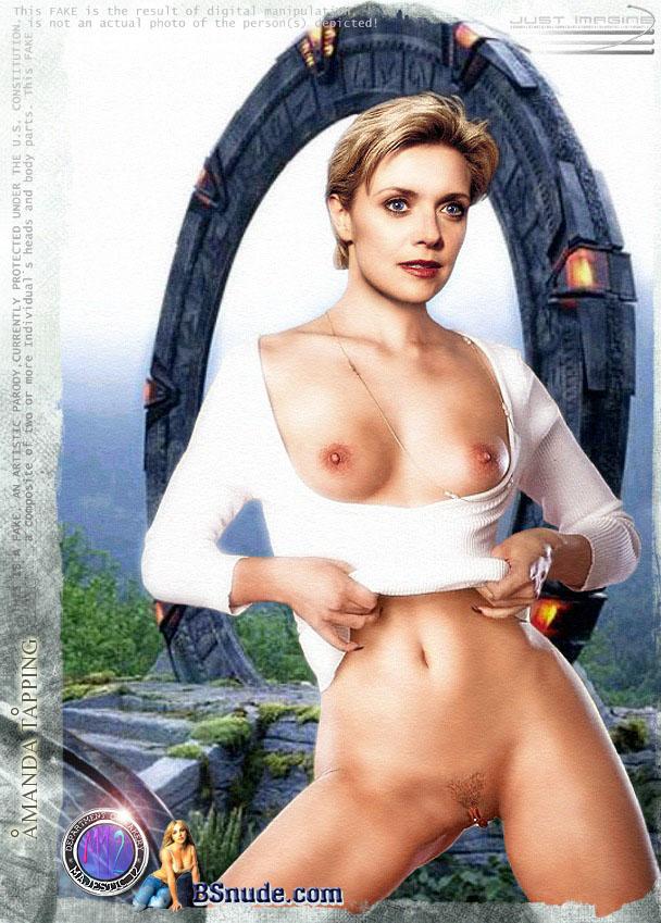 65620 - Amanda_Tapping Samantha_Carter Stargate Stargate_SG-1 fakes