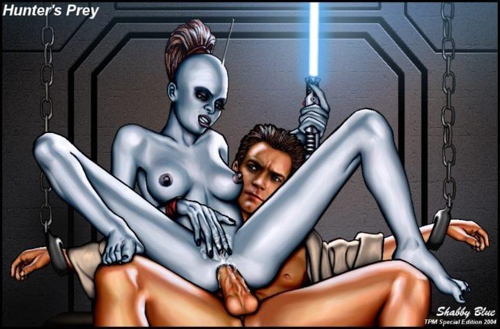 025_Aurra_Sing Obi-Wan_Kenobi Shabby_Blue Star_Wars