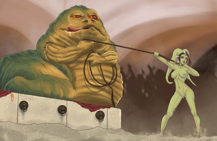 050_001_Hutt Jabba_the_Hutt Oola Star_Wars Su0grey Twi'lek