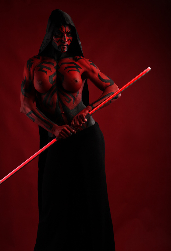 1002676 - Darth_Maul Rule_63 Star_Wars cosplay