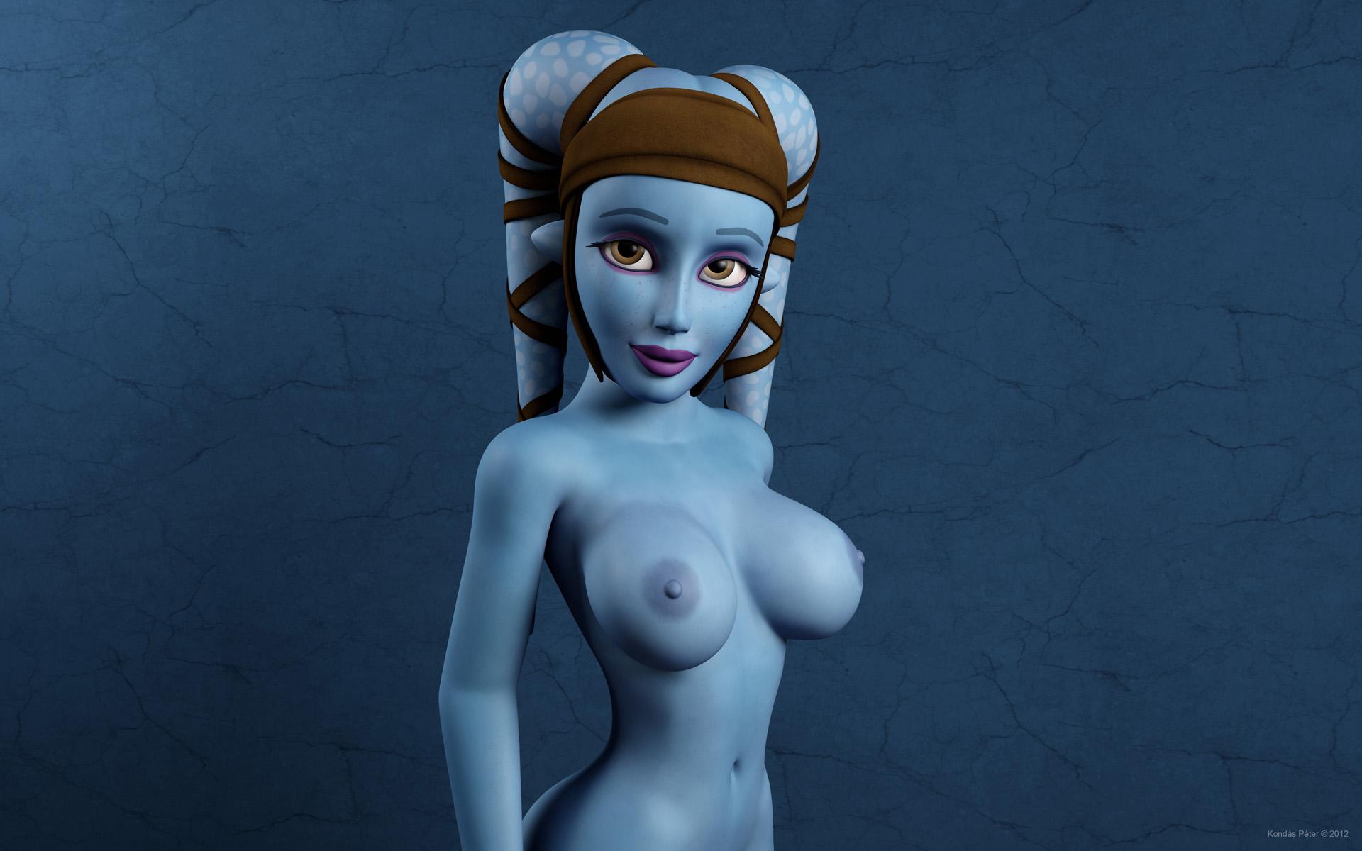 Shy nude massage