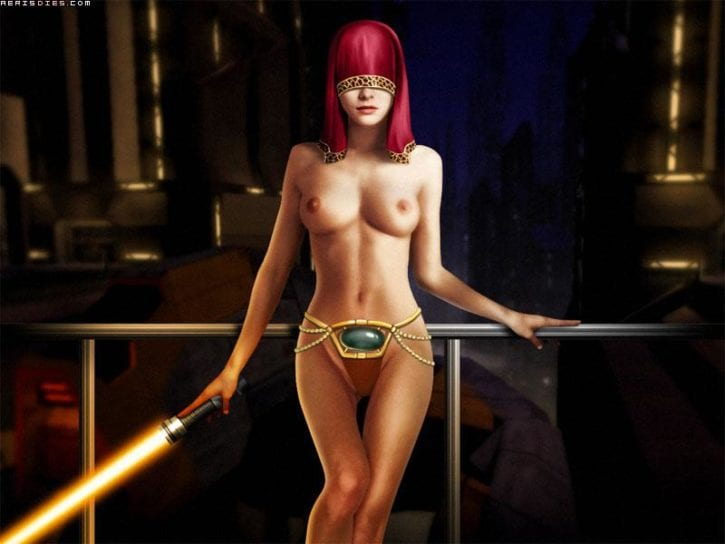 113694 - Knights_of_the_Old_Republic Miraluka Ranged_Weapon Star_Wars Visas_Marr
