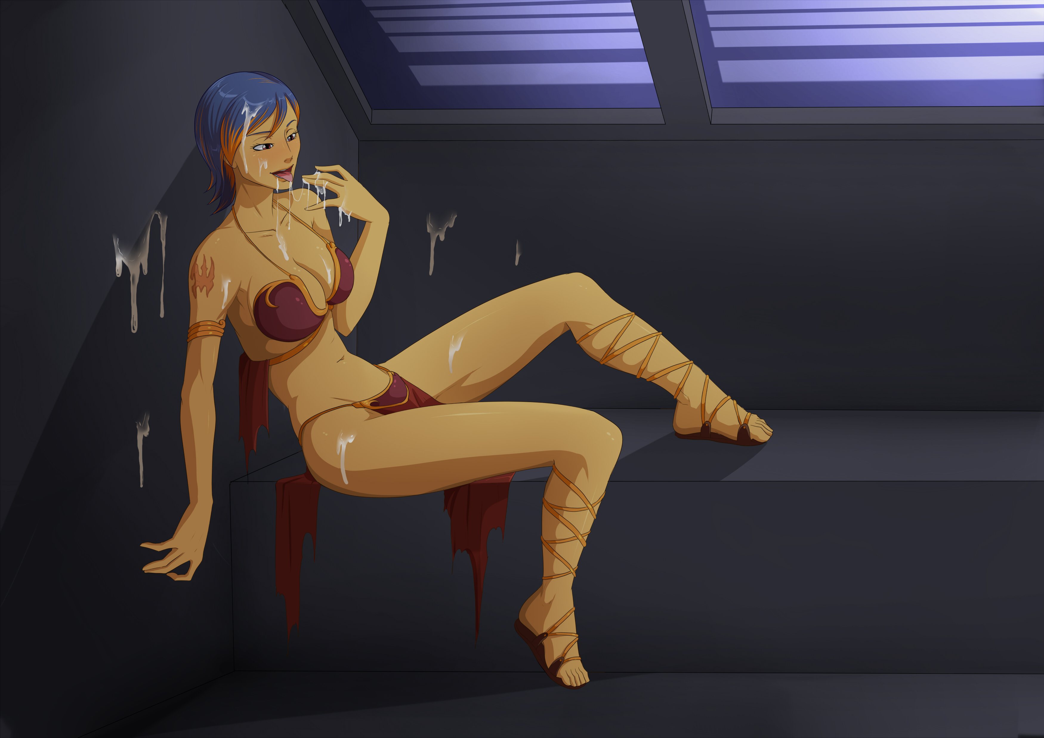Try reasonable. Naked famle lesbian star wars