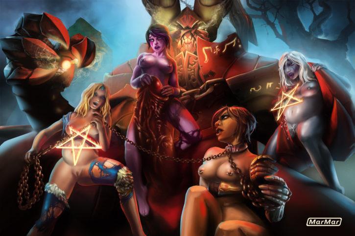 1683129 - DOTA_2 Doombringer Drow_Ranger Legion_Commander Marmar Rylai_the_Crystal_Maiden Templar_Assassin Traxex