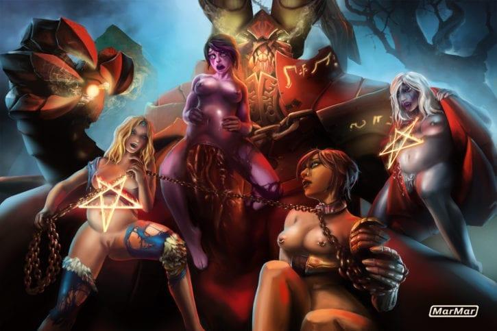 1683130 - DOTA_2 Doombringer Drow_Ranger Legion_Commander Marmar Rylai_the_Crystal_Maiden Templar_Assassin Traxex