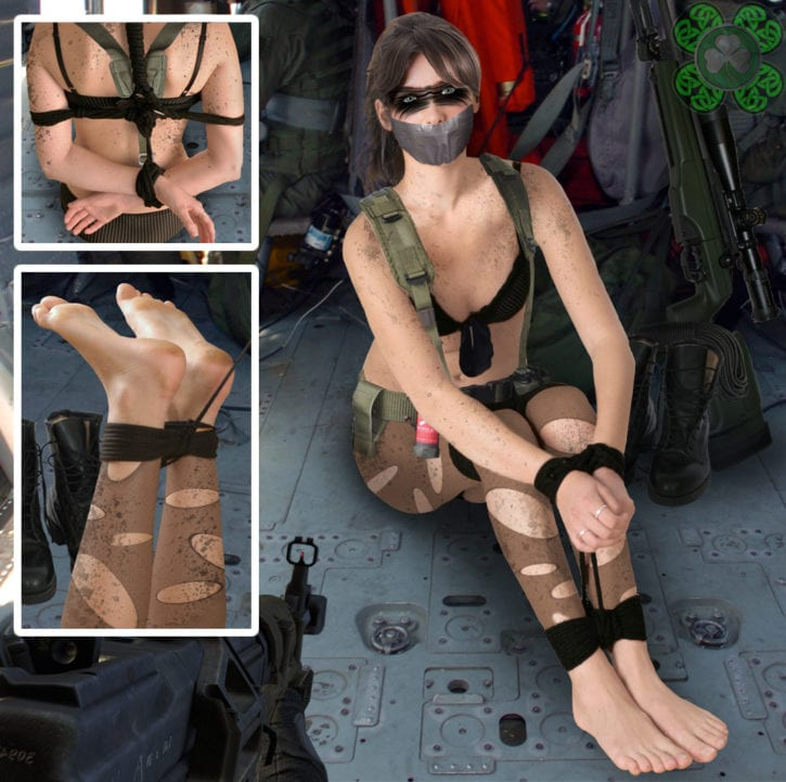 1684424 - Metal_Gear_Solid_V Quiet ShamrockManipulation Stefanie_Joosten fakes