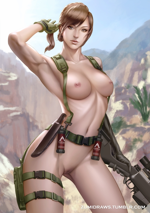 1692076 - Metal_Gear_Solid Metal_Gear_Solid_V Quiet ZumiDraws