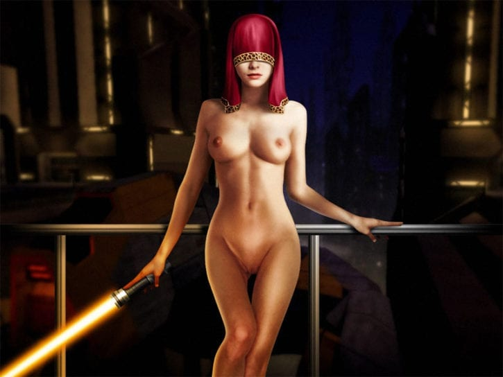 338528 - Knights_of_the_Old_Republic Miraluka Ranged_Weapon Star_Wars Visas_Marr