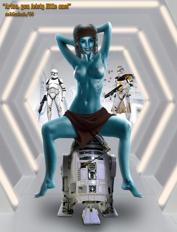 Clone wars female naked trooper star