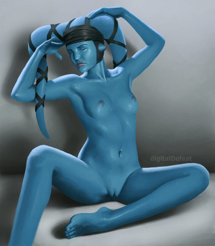 569860 - Aayla_Secura Star_Wars Twi'lek digitaldefeat