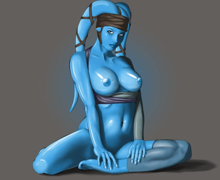 766451 - Aayla_Secura Dream4Live Star_Wars Twi'lek
