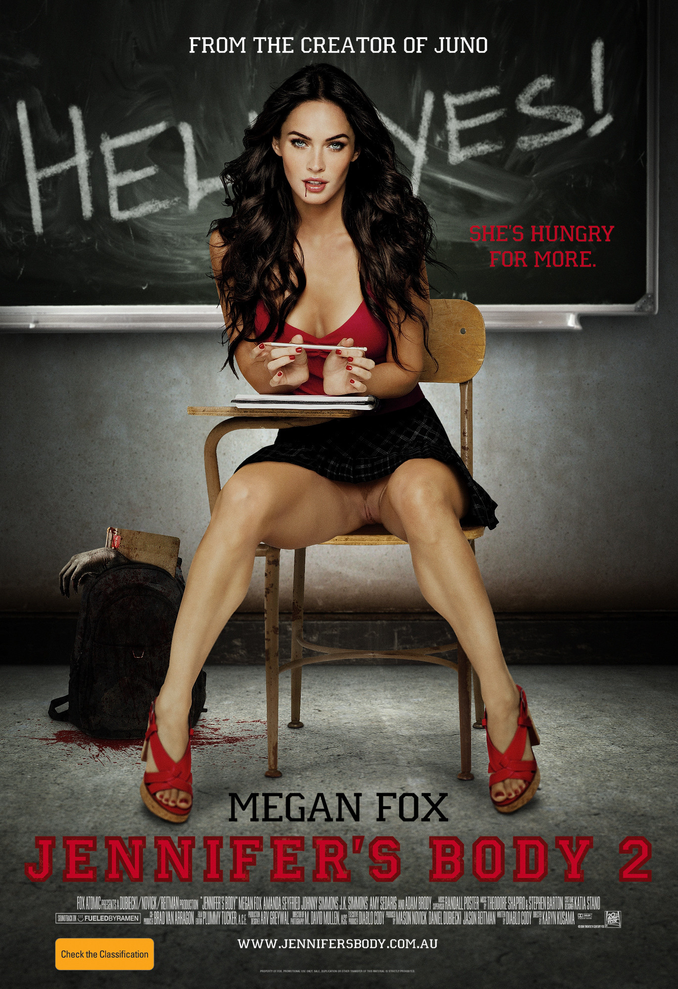 Fox s body jennifer movie megan