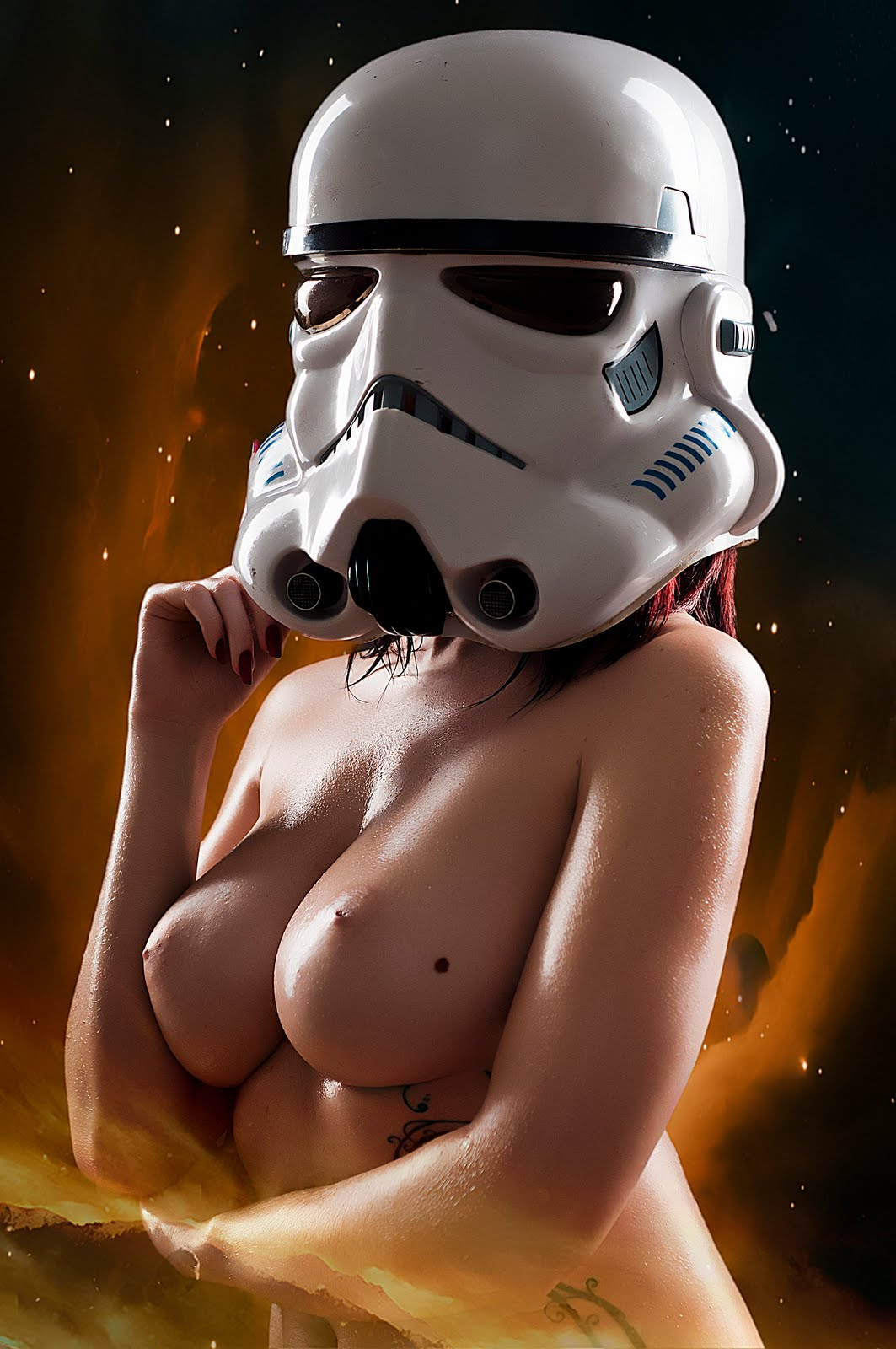 Red girl from star wars naked exposed galleries