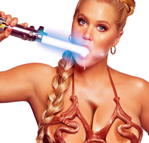 100 Days of Star Wars Porn: Amy Schumer's Star Wars Photos