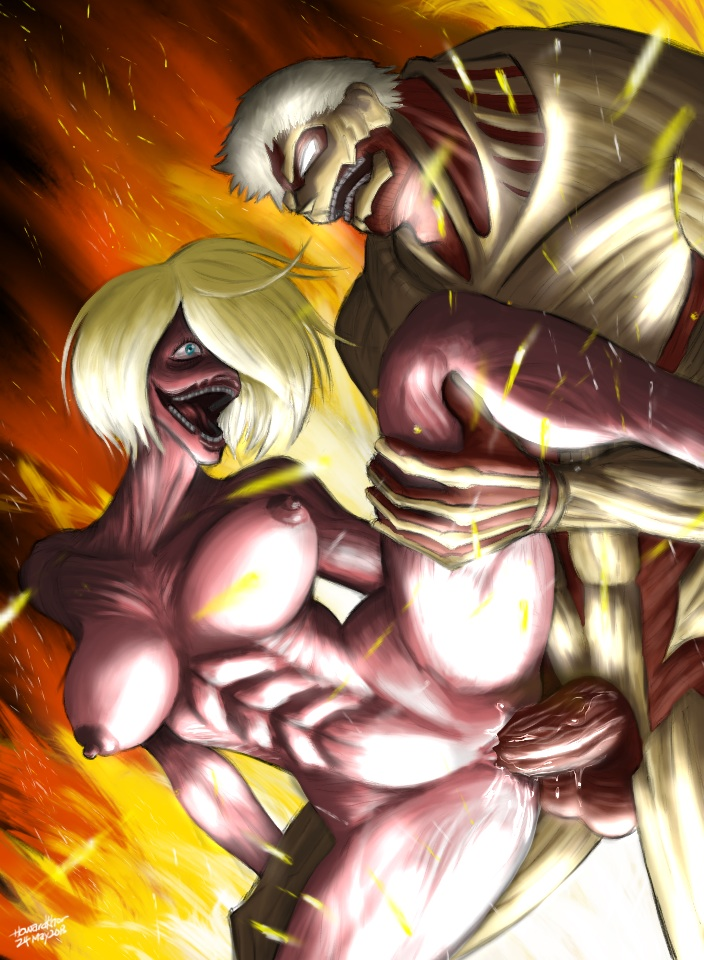 1125397 - Armored_Titan Attack_On_Titan Female_Titan howardkhor