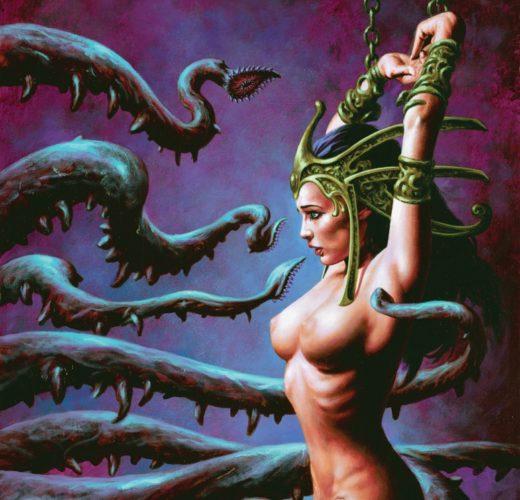 Dejah Thoris vs Tentacles