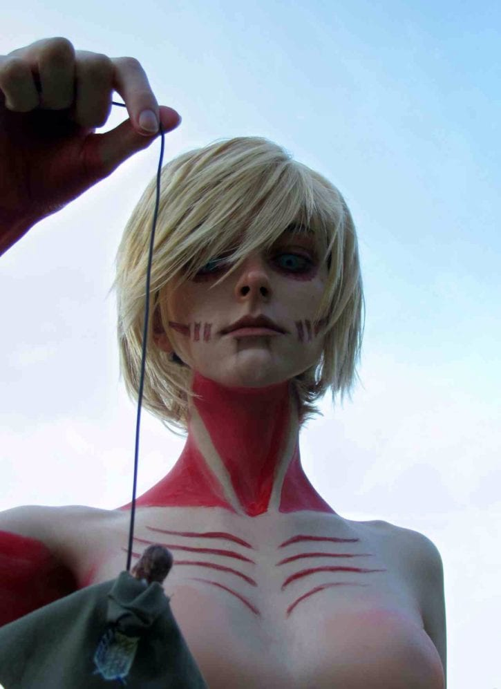 1641156 - Attack_On_Titan Female_Titan Titan cosplay