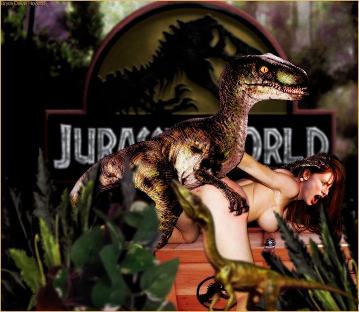 1701340 - Bryce_Dallas_Howard Claire_Dearing Dinosaur Jurassic_Park Jurassic_World Velociraptor fakes