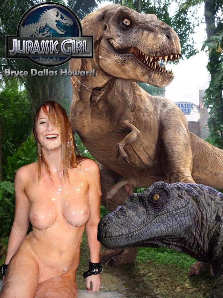 1701341 - Bryce_Dallas_Howard Claire_Dearing Dinosaur Jurassic_Park Jurassic_World fakes t-rex