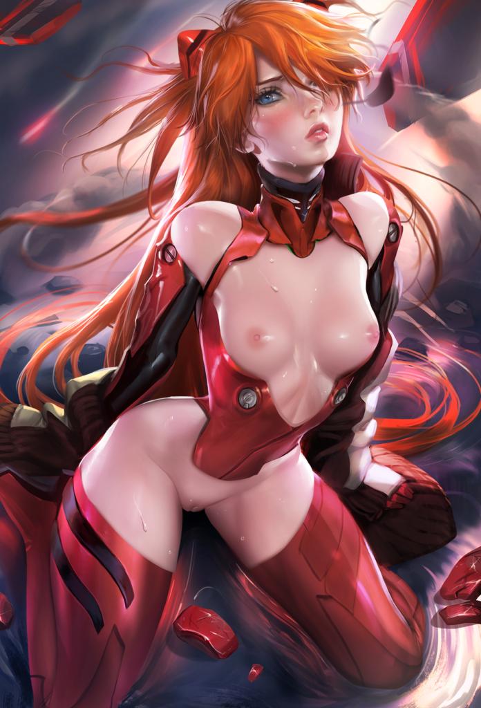 1701704 - Asuka_Langley_Sohryu Neon_Genesis_Evangelion sakimichan