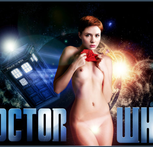 Amy Pond is Naked in Space – Doctor Who Rule 34