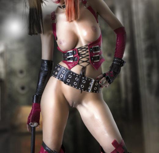 Harley Quinn Getting Naked