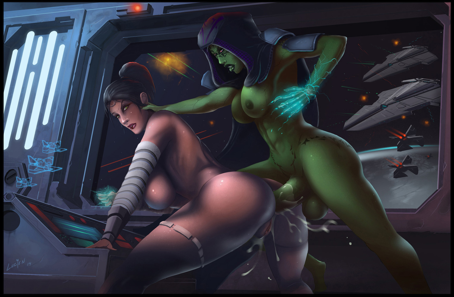Jedi night porn video hentia girls