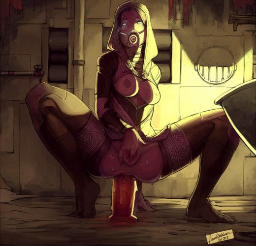 Tali from Mass Effect Rule 34