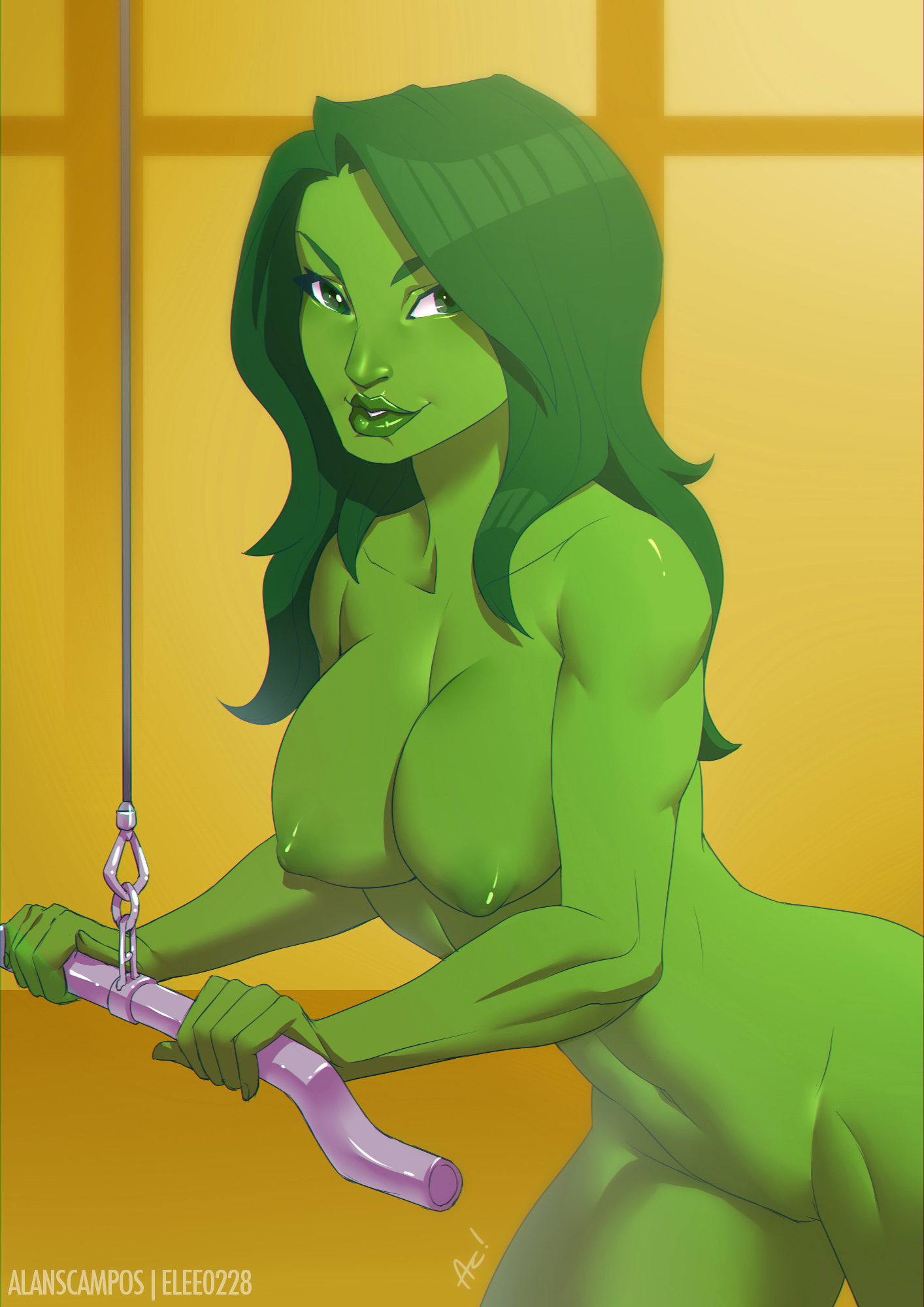 from Mathias she hulk having sex nude