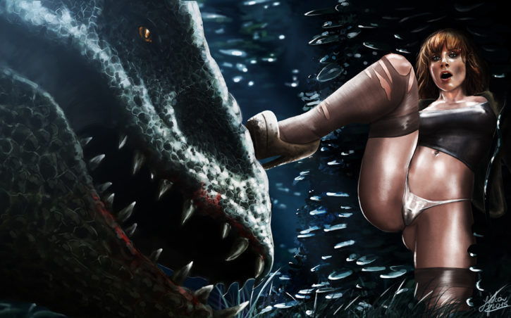Jurassic world porn pity, that