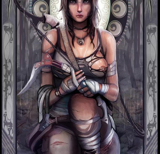 Lara Croft: Tomb Raider by CatCouch