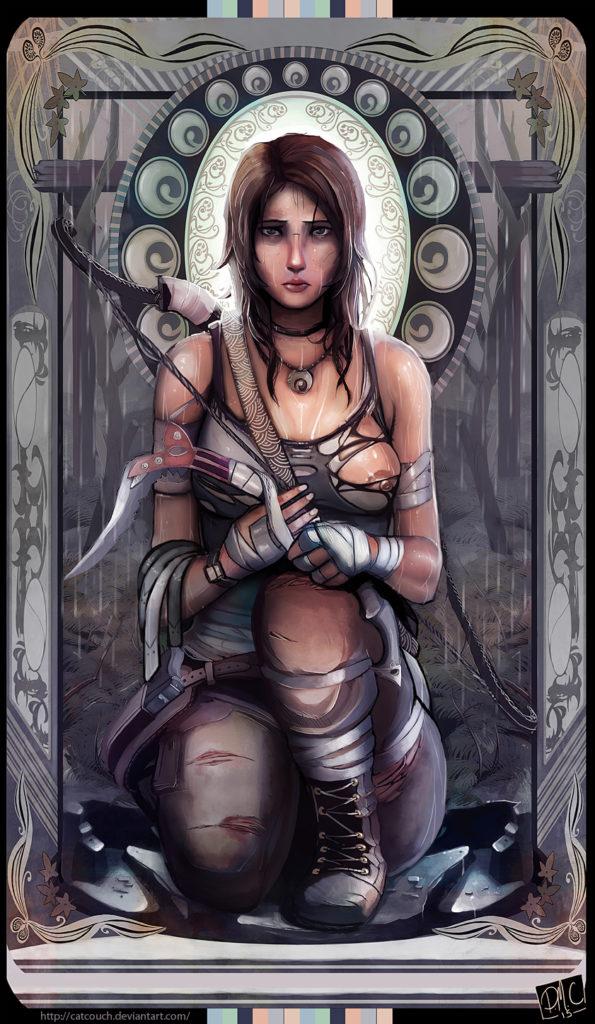 1725499 - CatCouch Lara_Croft Tomb_Raider Tomb_Raider_Reboot